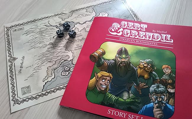 Gert & Grendil - Dwarven Roommates Storyset 1 - von Mario Bühling