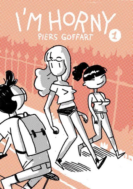 """I'm horny #1"" english version - A5 Comic von Piers Goffart"