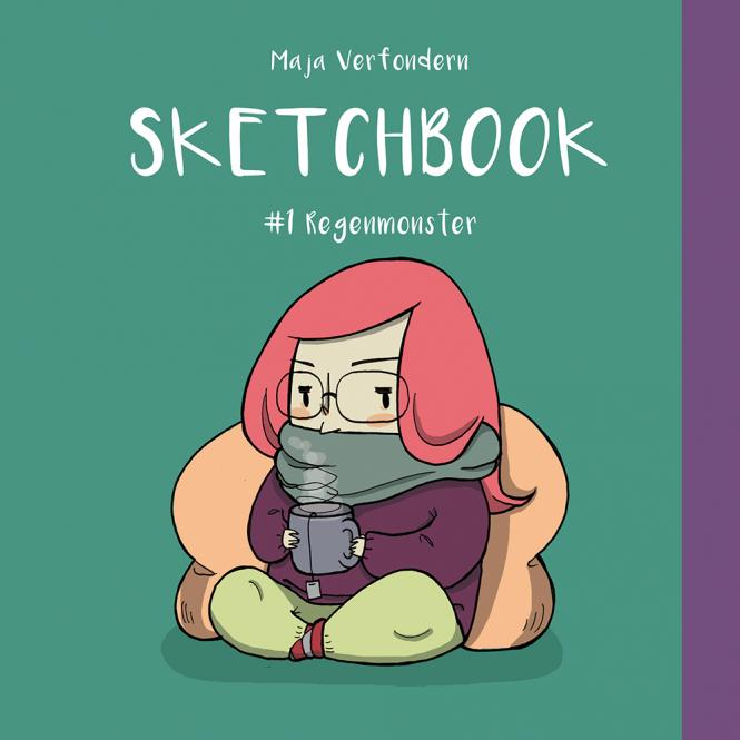 Sketchbook: #1 Regenmonster - von Maja Verfondern