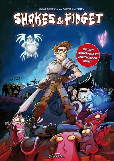 Shakes & Fidget HC Comic - Marvin Clifford & Oskar Pannier - Limitierte Edition