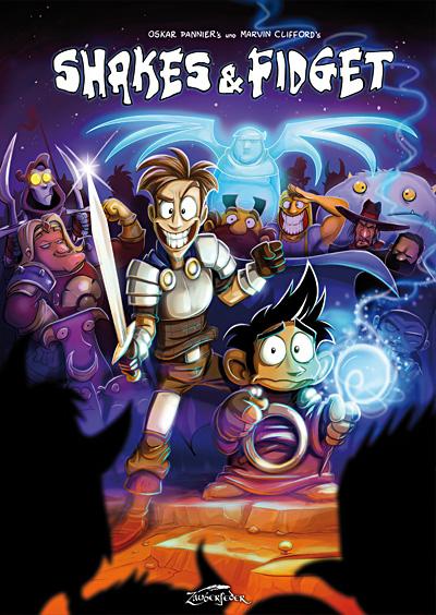 Shakes & Fidget HC Comic - Marvin Clifford & Oskar Pannier - Reguläre Edition