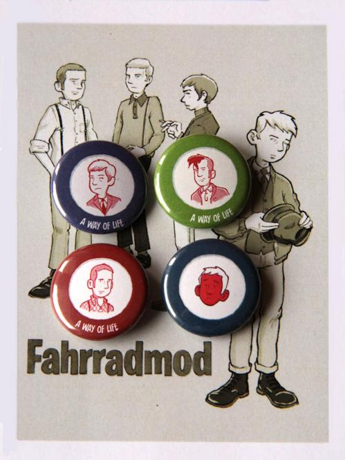 Fahrradmod - Getting Grand ButtonSet