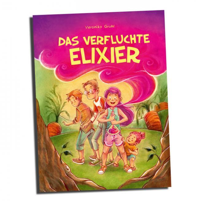 Das verfluchte Elixier - Kindercomic ab 6 von Veronika Gruhl