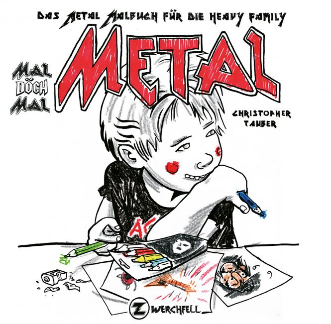 Mal döch mal Metal - Malbuch, Remastered
