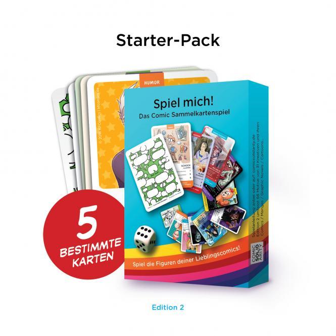 Spiel Mich! Edition 2 – Starterpack mit 5 Karten - jetzt erhältlich!