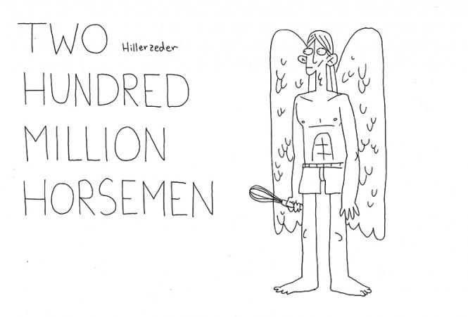 Two hundred million horsemen - Maximilian Hillerzeder