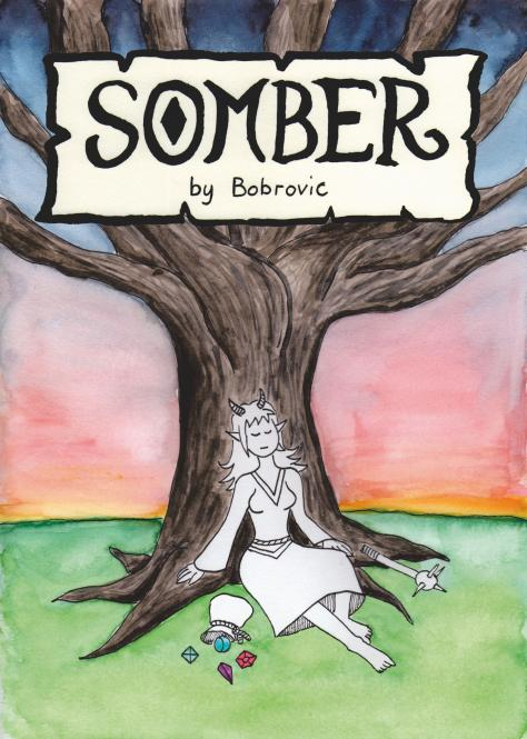 Somber – DIN A5 Heft vom Bobrovic