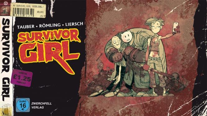 Survivor Girl - Horror-Hommage - ICOM-Preis bester Independent Comic 2016!