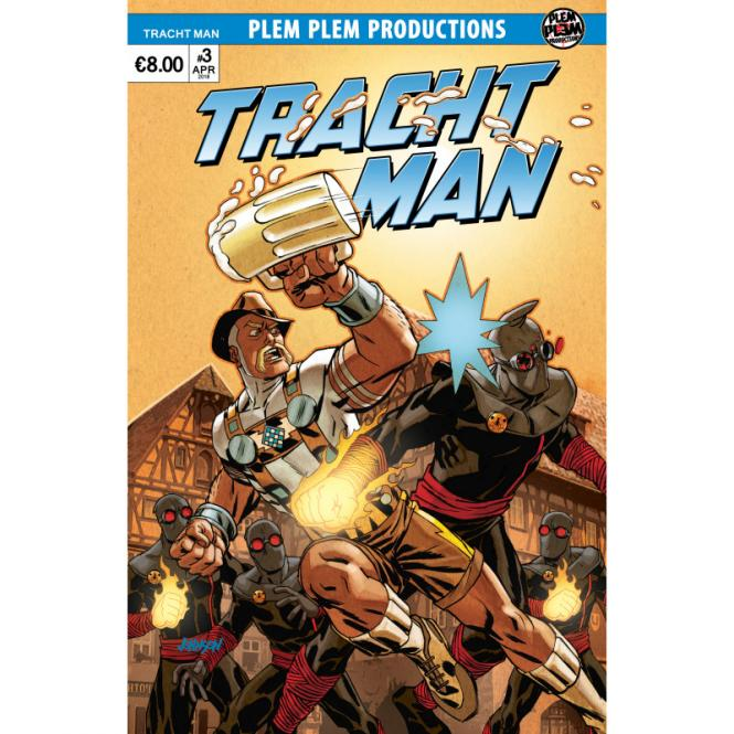 Tracht Man #3 – Dave Johnson Variant