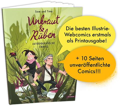 Unkraut und Rüben - Autobiographische Comics der Illustrie